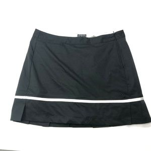 Adidas Black Climacool Stretch Golf Tennis Skort
